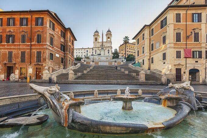 Italia da scoprire piazza di spagna