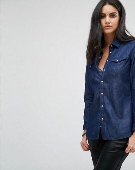 stile Jackie O camicia denim asos-1