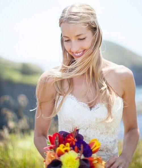 Acconciature da matrimonio semplice