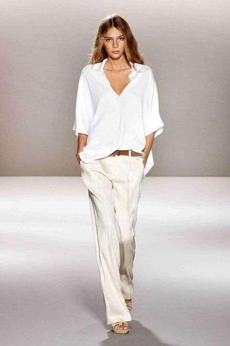 indossare il colore bianco Pinterest 1