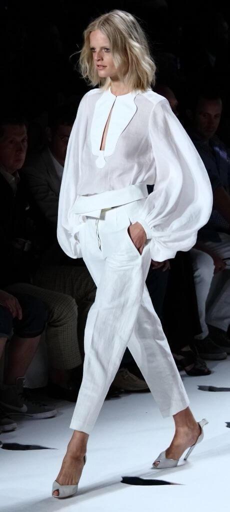 indossare il colore bianco pinterest