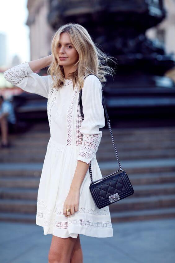abito bianco Stylecaster