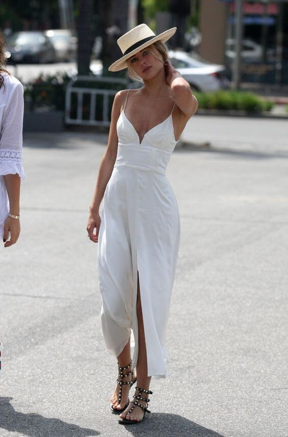 abito bianco hawtcelebs.com