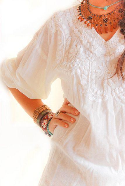abito bianco weheartit.com