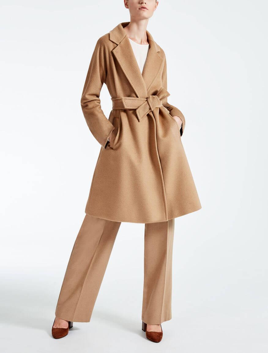 capi d'abbigliamento classici cappotto cammello Max Mara