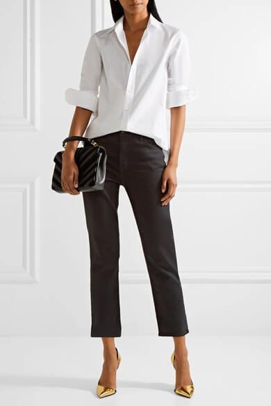 Вещи которые никогда не выйдут из моды, рубашка Saint Laurent