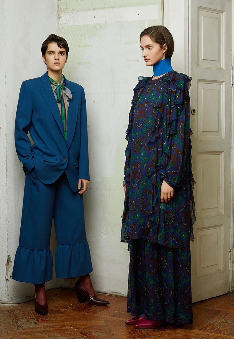 Модные цвета на осень 2017, Erika Cavallini