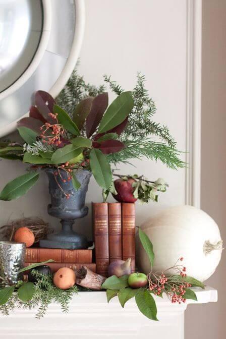decorare casa con le foglie d'autunno andgeorge.com
