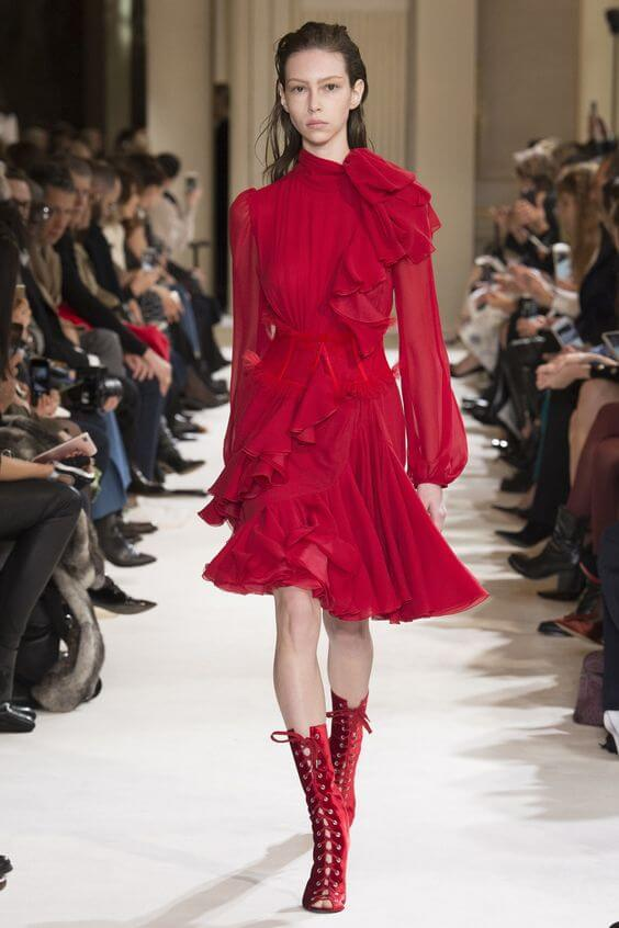 vestirsi di rosso Gianbattista Valli
