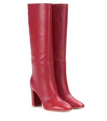 vestirsi di rosso gianvito rossi
