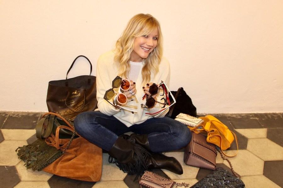 accessori in ordine Natasha Stefanenko