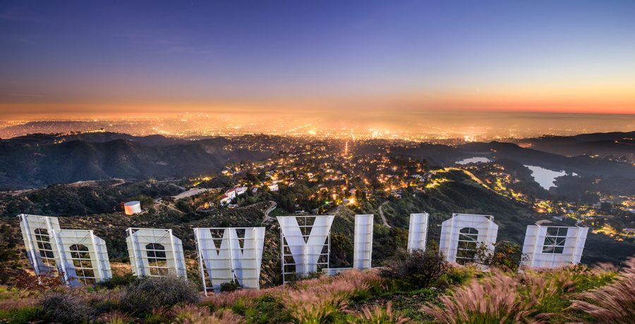 Viaggio a Los Angeles Hollywood