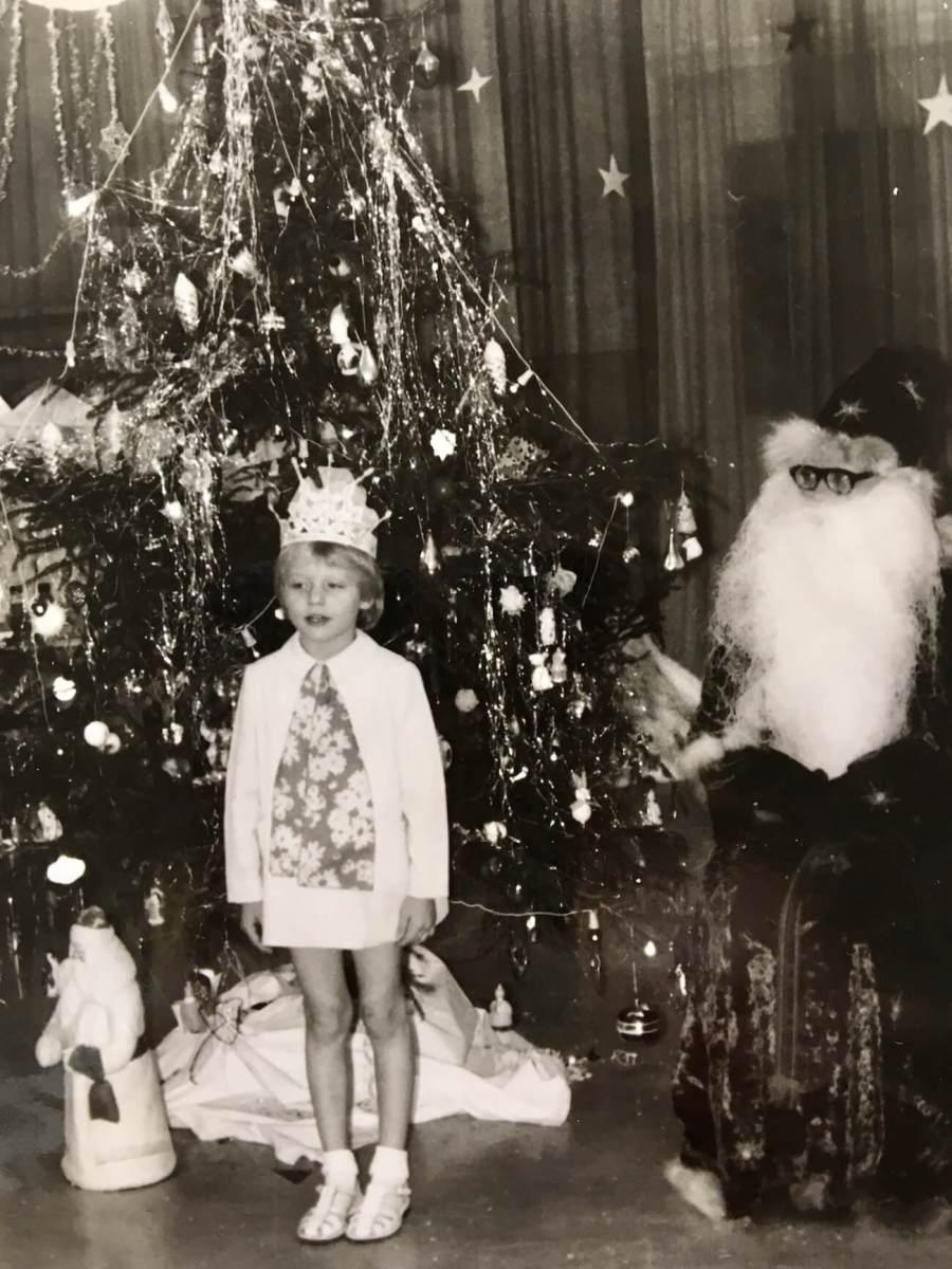 Natale da bambina Natasha stefanenko
