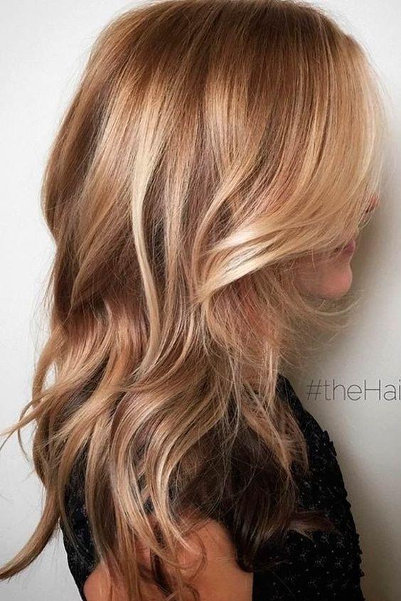 I nuovi colori capelli 2018 pinterest