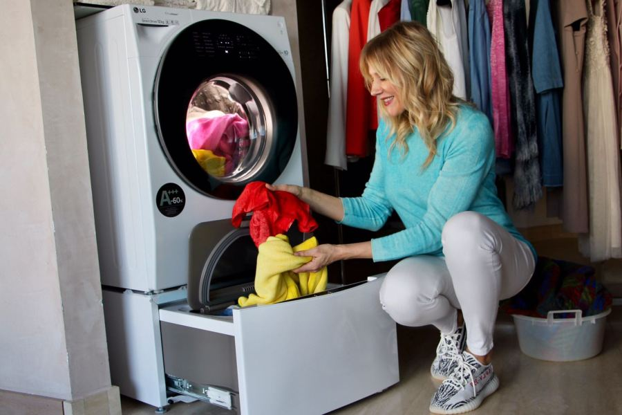 TWINRevolution due cestelliTwinwash LG smart