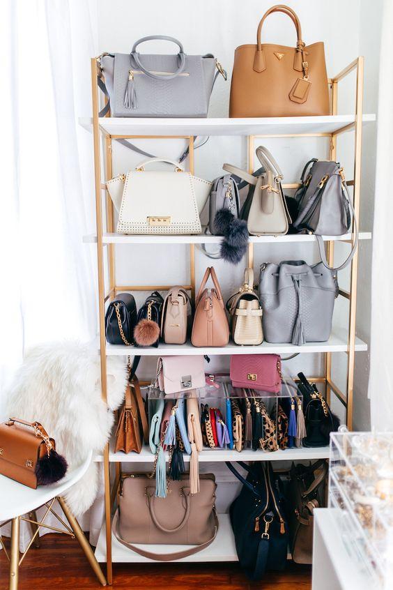 dritte per tenere in ordine le borse hauteofftherack.com