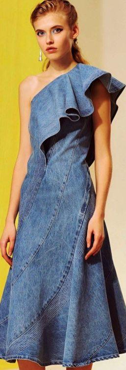 Jeans e denim 2018 10 idee per indossarlo Lorod, Pre-Fall 2018