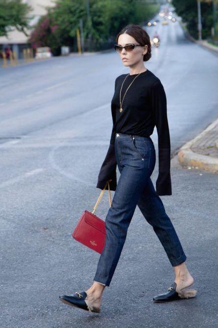 Jeans e denim 2018 10 idee per indossarlo scarpa bassa