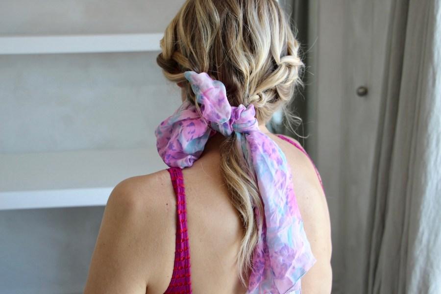 5 modi nuovi di usare un vecchio foulard Stefanenko