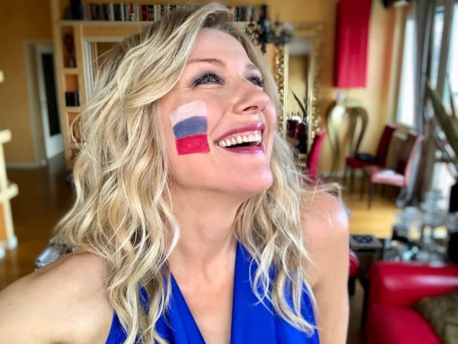 Mondiali Russia 2018 per noi russi Natasha Stefanenko