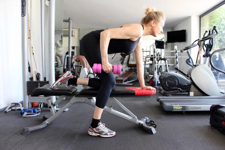 4 esercizi imbattibili per braccia perfette Natasha