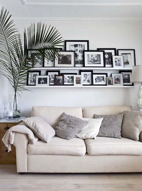 Как декорировать дом фотографиями, i.pinimg.com