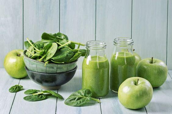 5 Ottime idee per Novembre smoothie spinaci