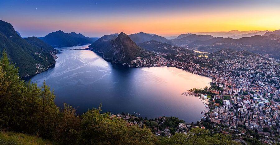Озера Италии, Лугано_Wikimedia