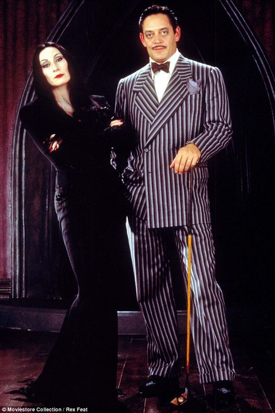Idee per travestirsi in coppia ad Halloween Addams