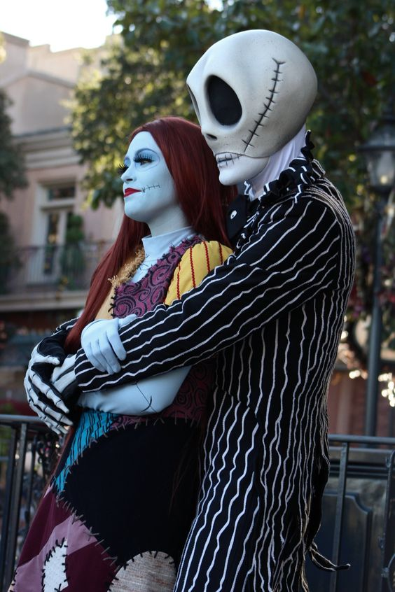 Idee per travestirsi in coppia ad Halloween Nightmare before Christmas