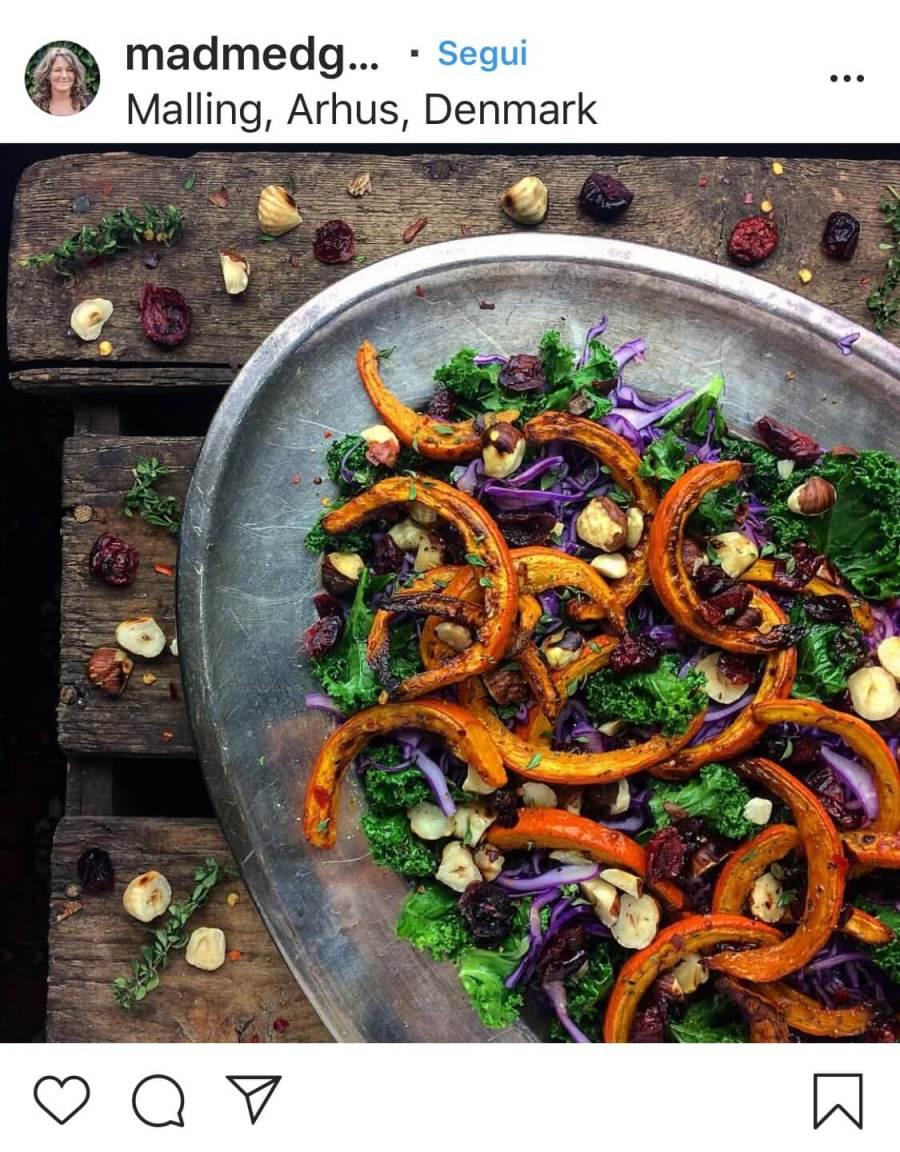 3 рецепта осенних салатов, с грибами