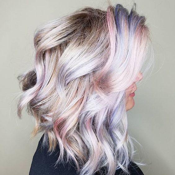 Тренды волос 2019, оттенки блонд