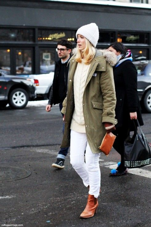 come indossare i jeans bianchi in inverno marksides.com