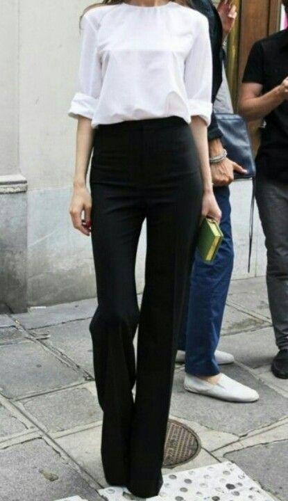 Как одеваться девушкам невысокого роста, брюки