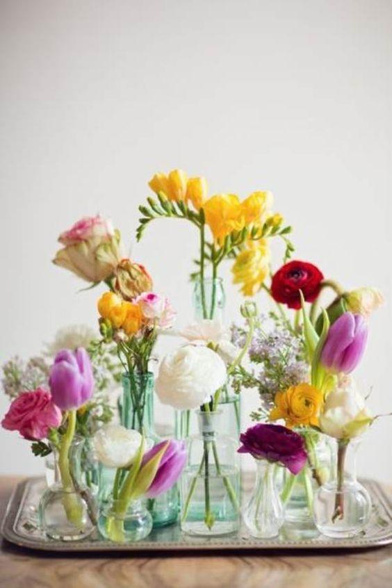 Цветочные идеи, вазы