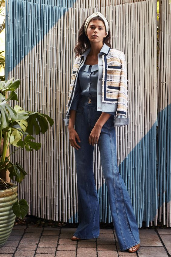Tendenze PE 2019 denim chic vogue.com