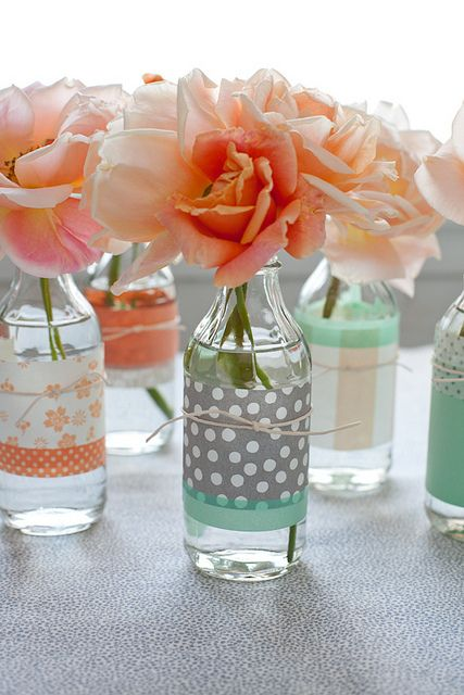 Цветочные идеи, самодельные вазы