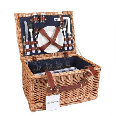 idee per vivere all'aperto cesto picnic