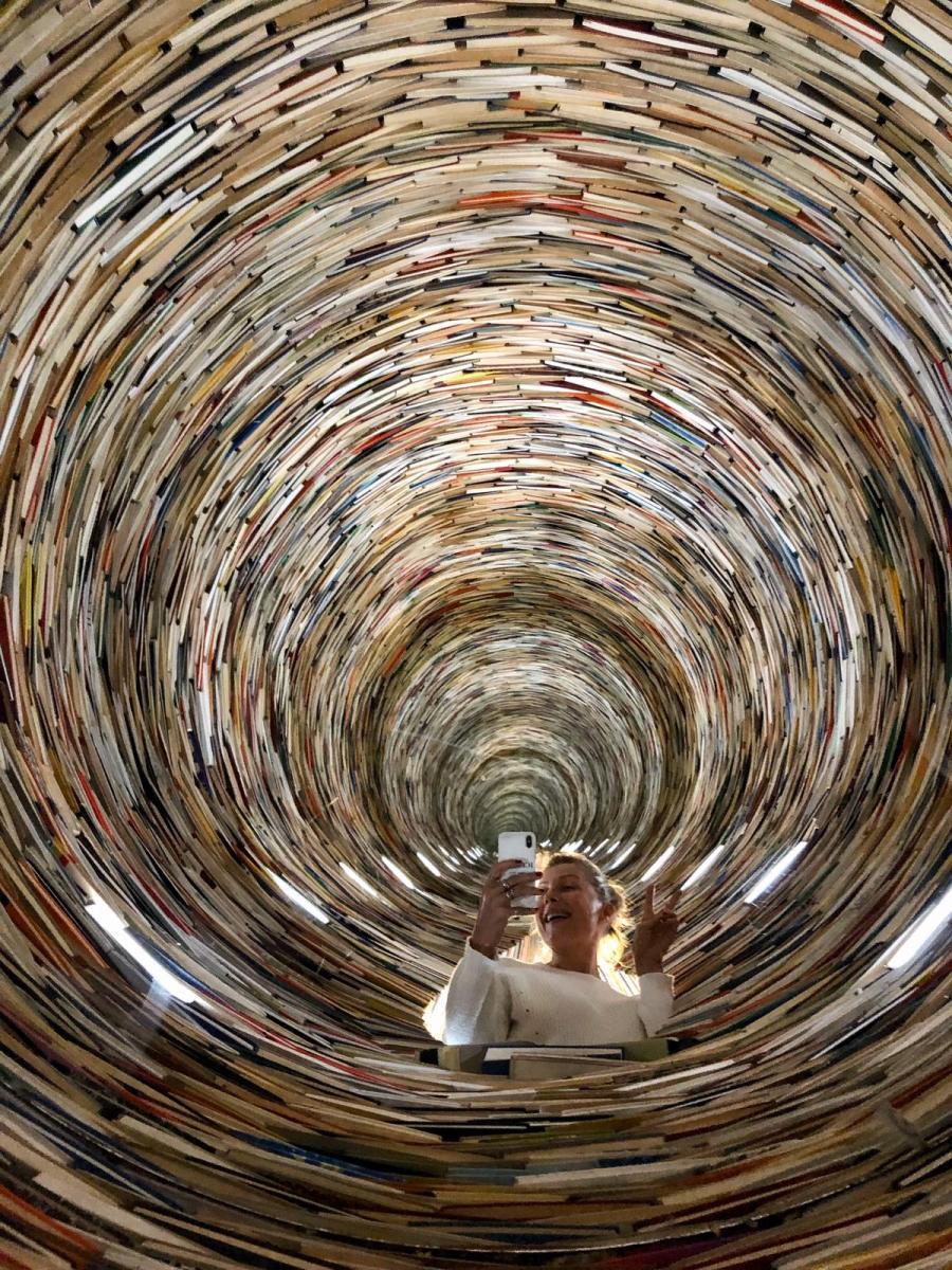 6 cose sorprendenti di Praga torre di libri