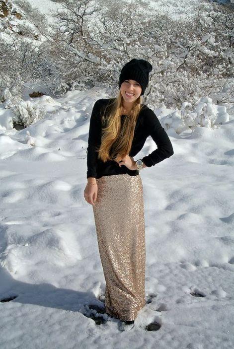 Come mi vesto per le feste http-::abreefashion.blogspot.com:2013:12:holiday-look-gold-sequin-maxi-skirt