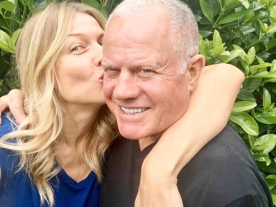 Наташа Стефаненко и её отец