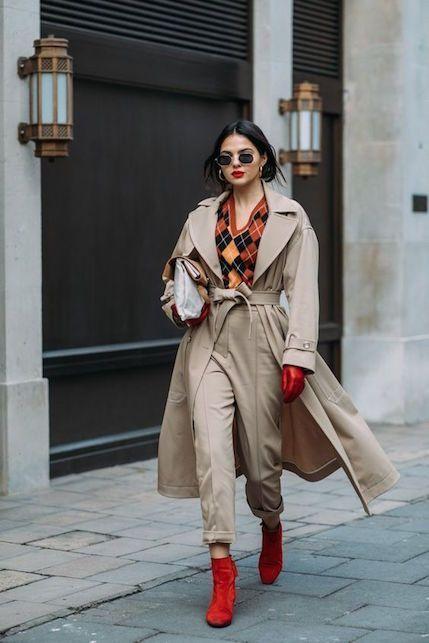 Come indossare il trench in 7 modi diversi concosalometto.com