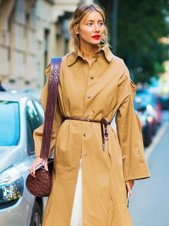 Come indossare il trench in 7 modi diversi whowhatwear.co.uk