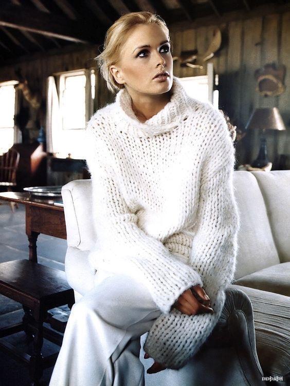 Come vestirsi con 50 sfumature di bianco maglione