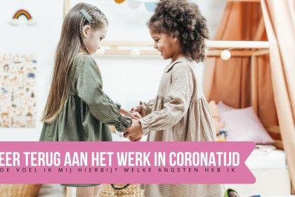 werken in coronatijd