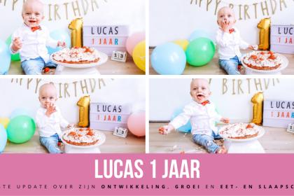 Lucas 1 jaar