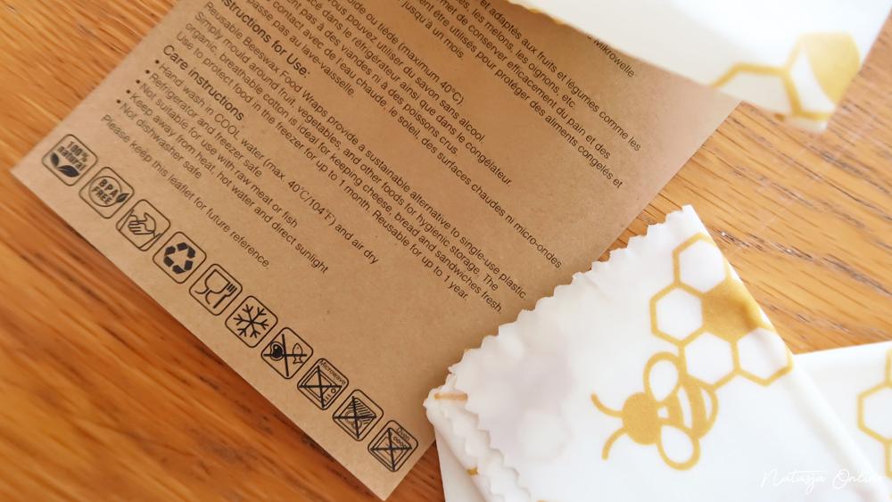 Bee's Wax Wraps verzorging