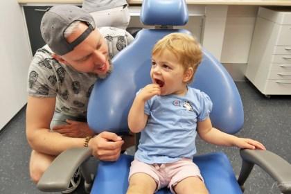 eerste keer naar de tandarts