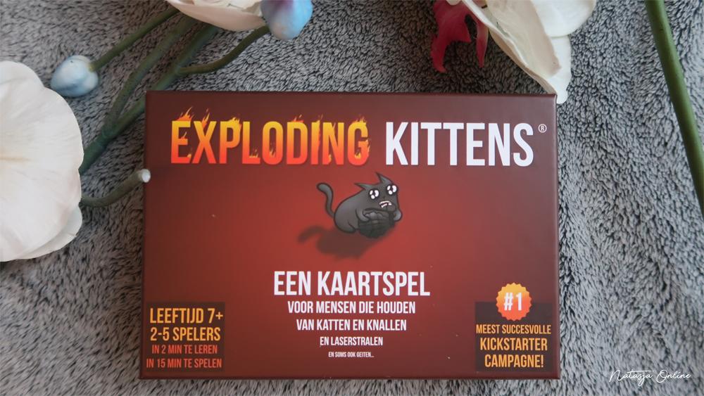 Exploding Kittens spel doos