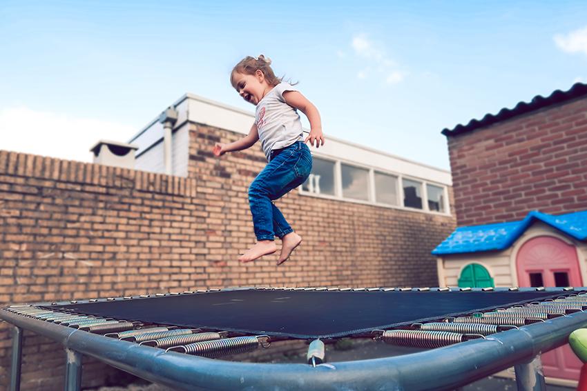 peuter trampoline